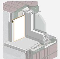 Сэндвич-панель ПВХ для откосов белая односторонняя 10мм (3000х1500)