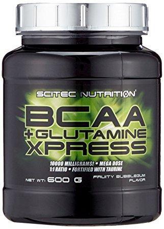 BCAA+Glutamine Xpress Scitec Nutrition (600 грамм) fruity bubblegum/фруктовая жевательная резинка