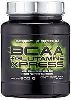BCAA+Glutamine Xpress Scitec Nutrition 600 грамм