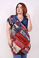 Рубашка женская большого размера Шейла линии (2 цвета), одежда больших размеров