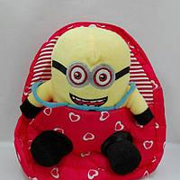 Рюкзак детский мягкий с игрушкой