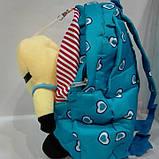 Рюкзак детский мягкий с игрушкой, фото 5
