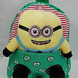 Рюкзак детский мягкий с игрушкой, фото 7