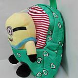 Рюкзак детский мягкий с игрушкой, фото 8