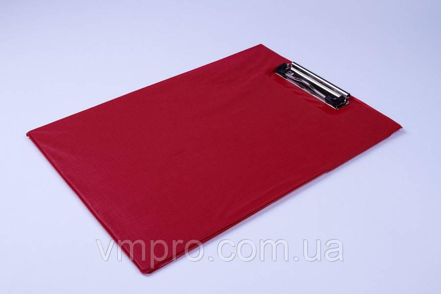 Планшет двойной A4 с металлическим прижимом, планшет папка