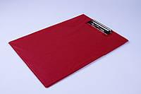 Планшет двойной A4 с металлическим прижимом, планшет папка, фото 1