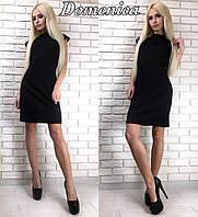 Черное классическое платье, фото 1