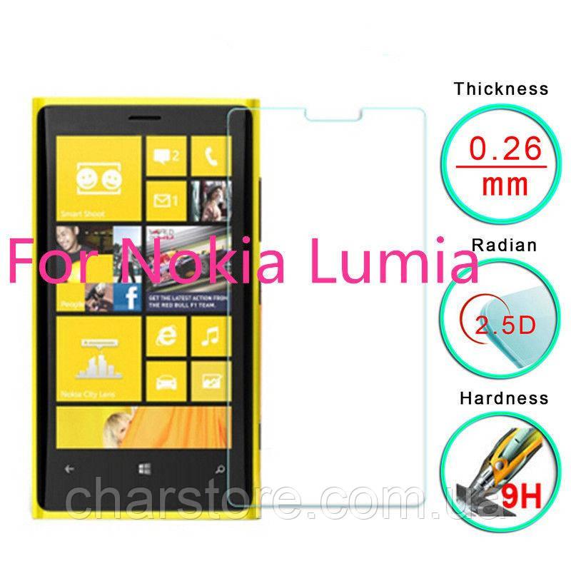 Защитное стекло для Nokia Lumia 920 плотность 9H