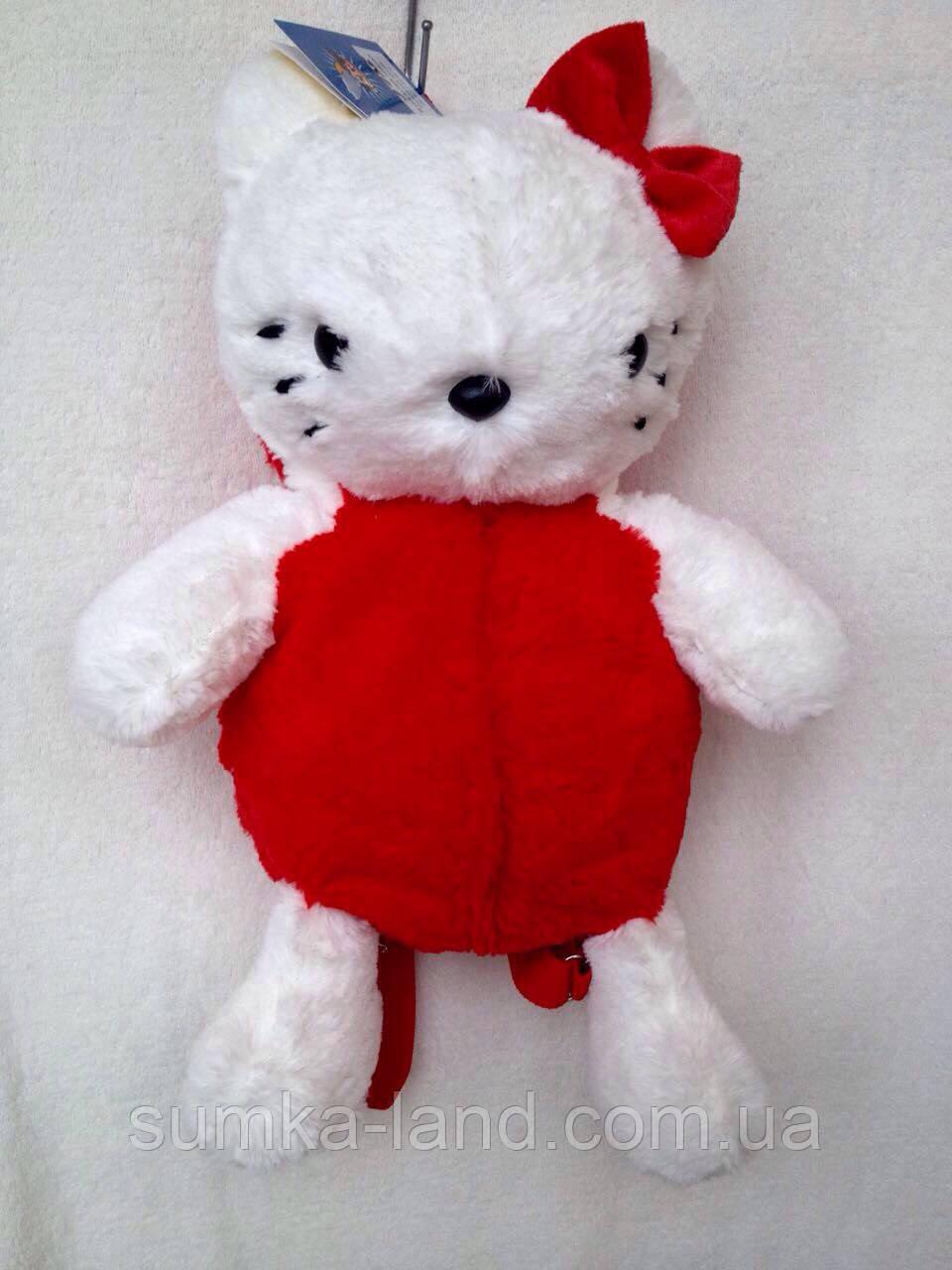 """Рюкзак - игрушка детский мягкий """"Hello Kitty"""""""