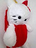 """Рюкзак - игрушка детский мягкий """"Hello Kitty"""", фото 3"""