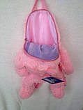 "Рюкзак - игрушка детский мягкий ""Ведмежонок"", фото 5"