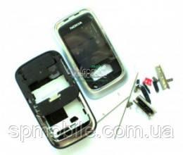 Корпус Nokia 6111 High Copy White-Silver