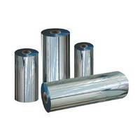 Пленка металлизированная (двухсторонняя) для упаковки серебро