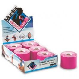 Mueller 28277 кинезио-тейп  5см*5м (коробка) розовый
