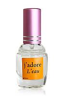 Женская туалетная вода  с феромонами Christian Dior J'adore L'eau (Кристиан Диор Жадор Лео), 12 мл