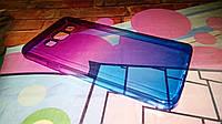 Чехол для Samsung Galaxy A3 2015 A300 TPU пурпурно-синий