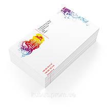 Печать на конвертах формата С5 4+0 (цветные односторонние)Онлайн, фото 3