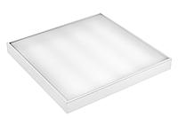 Светодиодная накладная панель LEDEFFECT Комфорт 40Вт 600х600мм  Холодный белый 6000К