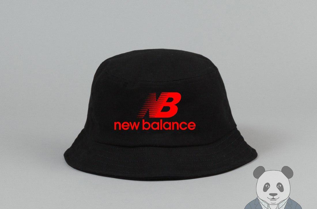 Панамка New Balance черная (люкс копия)