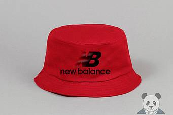 Панамка New Balance красная