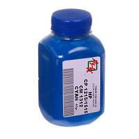 Тонер HP CLJ CP1215/1515 Cyan (40г) (АНК, 1501130)