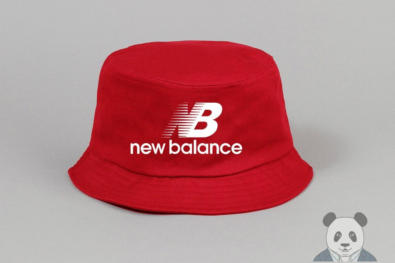 Панамка New Balance красная (люкс копия)