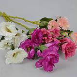 Еустома середньо рожева 57 см штучні Квіти, фото 2