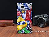 Чехол бампер силиконовый для HTC Desire 600 с рисунком лев в шлеме, фото 7