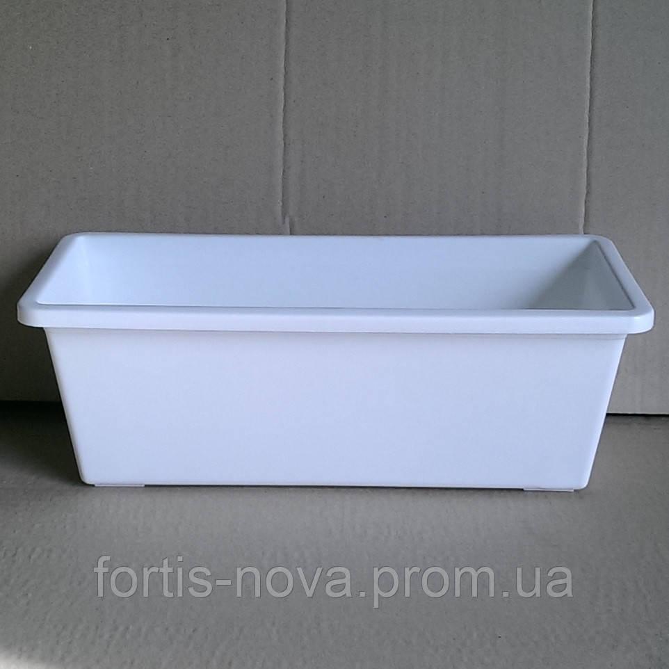 Скринька балконова 70см біла