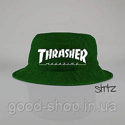 Панамка Thrasher зеленая