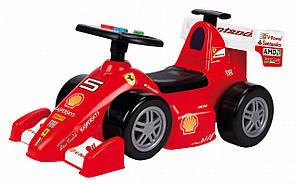 Машинка каталка Ferrari F2012 Feber - Испания - руль с цветными кнопками