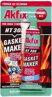 Термостойкий силиконовый герметик   Akfix HT300 (50мл. блистер)