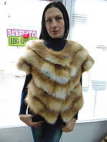 Болеро из меха лисы