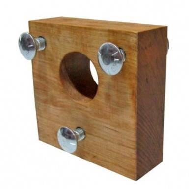 Подшипник деревянный шнека доочистки для комбайна Case 2166, 2388, фото 2