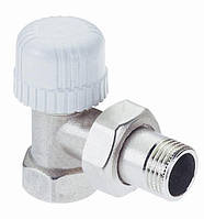 """Угловой термостатический вентиль с преднастройкой для железной трубы, размер 3/4"""""""