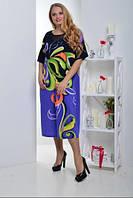 Платье женское летнее батал, с 54-64 размер