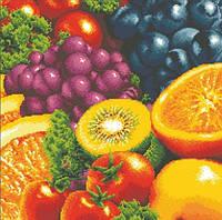 Алмазная вышивка Свежие фрукты