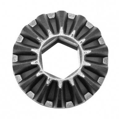 Шестерня коническая привода шнека доочистки для комбайна Case 2388, фото 2
