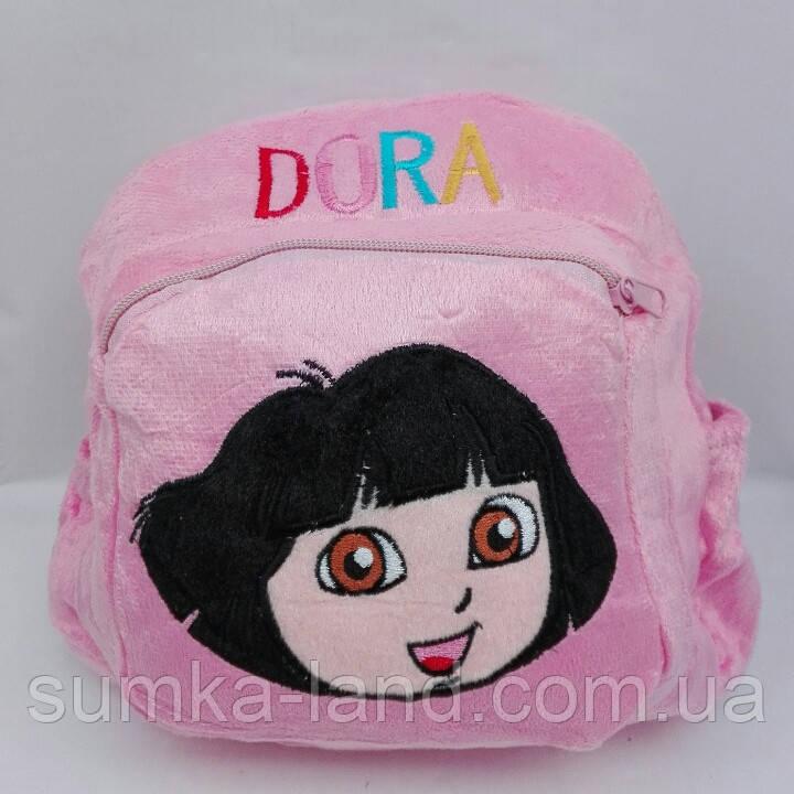 """Рюкзак детский мягкий с аппликацией""""Dora"""""""