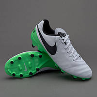 Бутсы Nike Tiempo Genio II FG 819213-103 Найк Темпо (Оригинал)