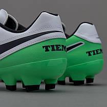 Бутсы Nike Tiempo Genio II FG 819213-103 Найк Темпо (Оригинал) Акция ... a0ebe44c8c0