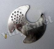 Летковый заградитель для круглого летка улья (алюминиевый)