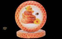 Крышка Твист-Офф на 82 мм с пчелой и сотами