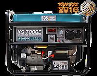 Газобензиновый генератор KS 7000E G Германия