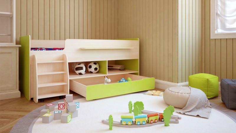 Детская кровать Тимон