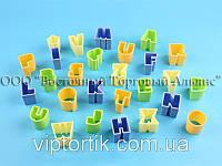 Набор кондитерских вырубок - Буквы английские из 28 шт.
