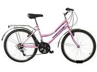 Городской велосипед Mustang Sport 26 красный, розовый