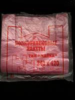 Пакет майка полиэтиленовый 24*42