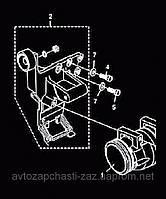Кронштейн крепления кондиционера и гидроусилителя / ГУР СЕНС. Кронштейн навесных агрегатов 307-3701630-01 Sens, фото 1