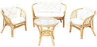 Комплект садовой мебели из ротанга BAHAMA EXCLUSIVE HONEY
